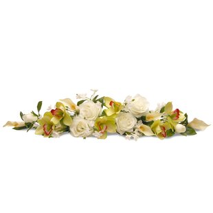 Floral swag youll love wayfair rose and calla lily swag mightylinksfo