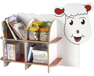 Lizzy The Lamb Shelf Unit in Multicolour by Twoey Toys