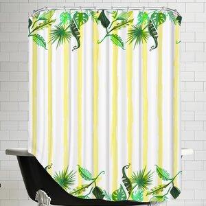 Buy Palmskirt yellow Shower Curtain!
