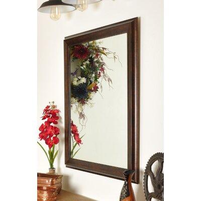 BrandtWorksLLC Hill Vintage Copper Wall Mirror Size: 49.5 H x 31.5 W x 1 D