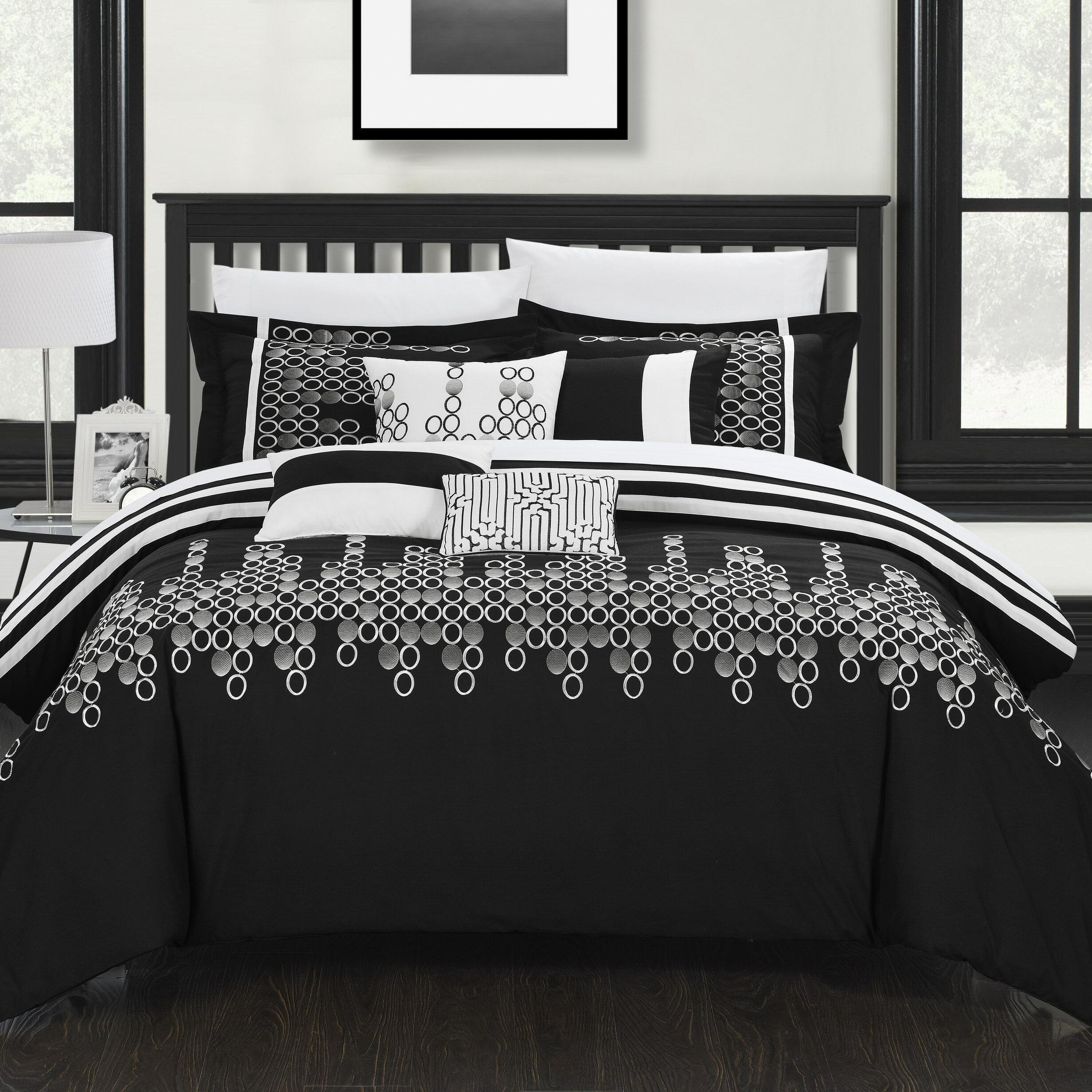 Black And White Hotel Bedding | Wayfair
