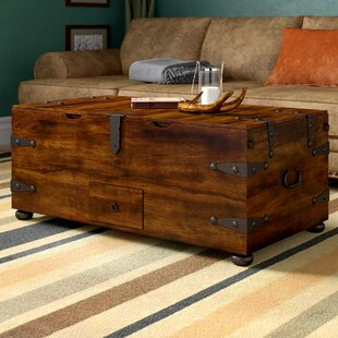 Abigayle Trunk Coffee Table With Lift Top