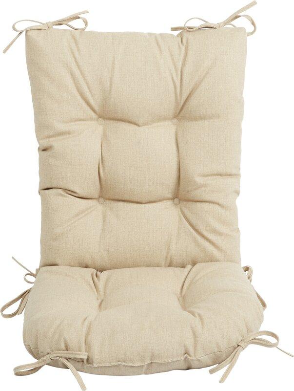 chair pillow. Wayfair Basics Outdoor 2 Piece Rocking Chair Cushion Set Pillow