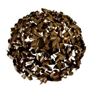 Pinwheel 8-Light Flush Mount