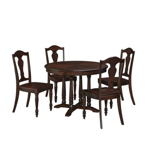 Pablo 5 Piece Dining Set by World Menagerie