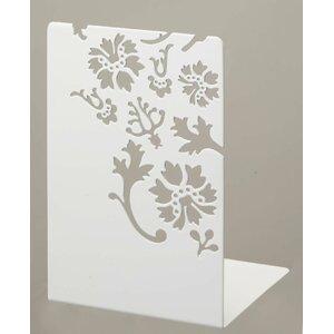Flowers Metal Book End (Set of 2)