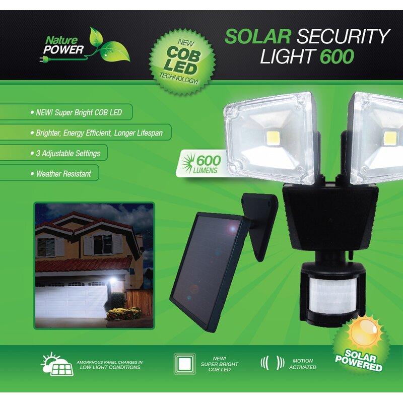 70-Watt LED Solar Power Dusk to Dawn Outdoor Security Flood Light with  Motion Sensor