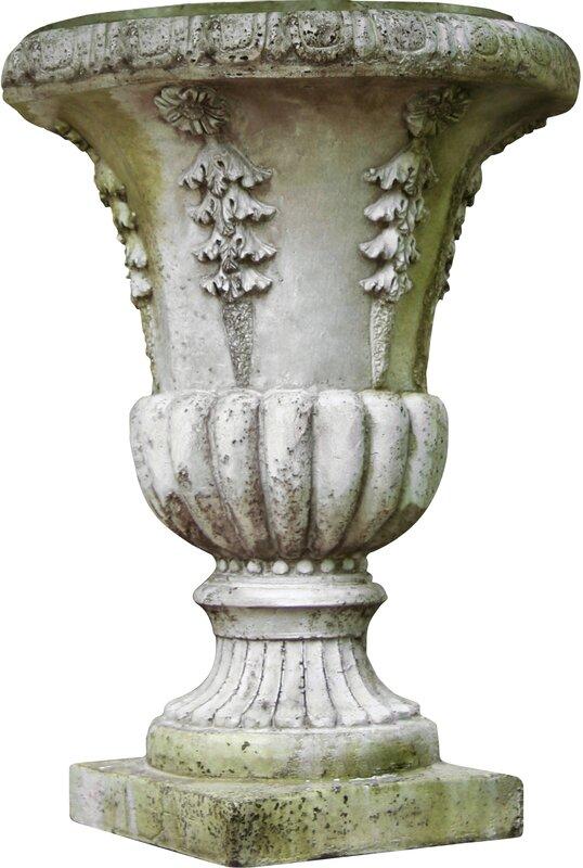 Orlandistatuary Cast Stone Urn Planter Amp Reviews Wayfair