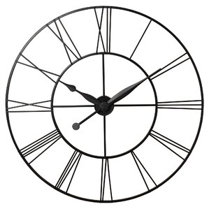 Large Black Wall Clock wall clocks you'll love | wayfair
