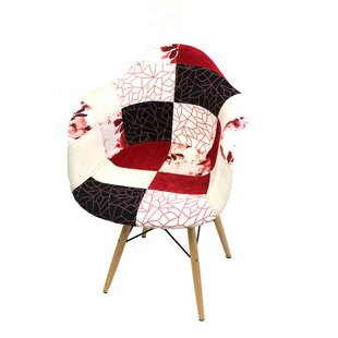 Coddington Blossom Patchwork Upholstered Dining Chair
