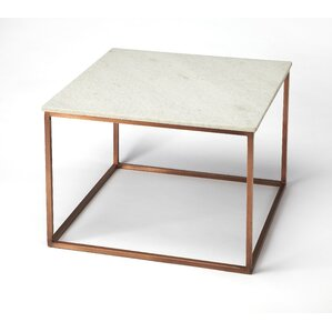 Bova Marble And Metal Coffee Table