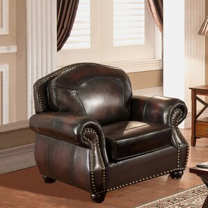 Vail Leather Club Chair by..
