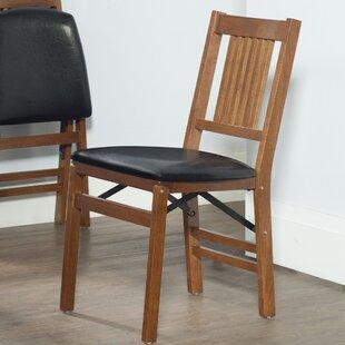 Berkshire Vinyl Padded Folding Chair Set Of 2