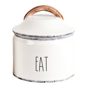 Delano Farmhouse Eat Kitchen Canister