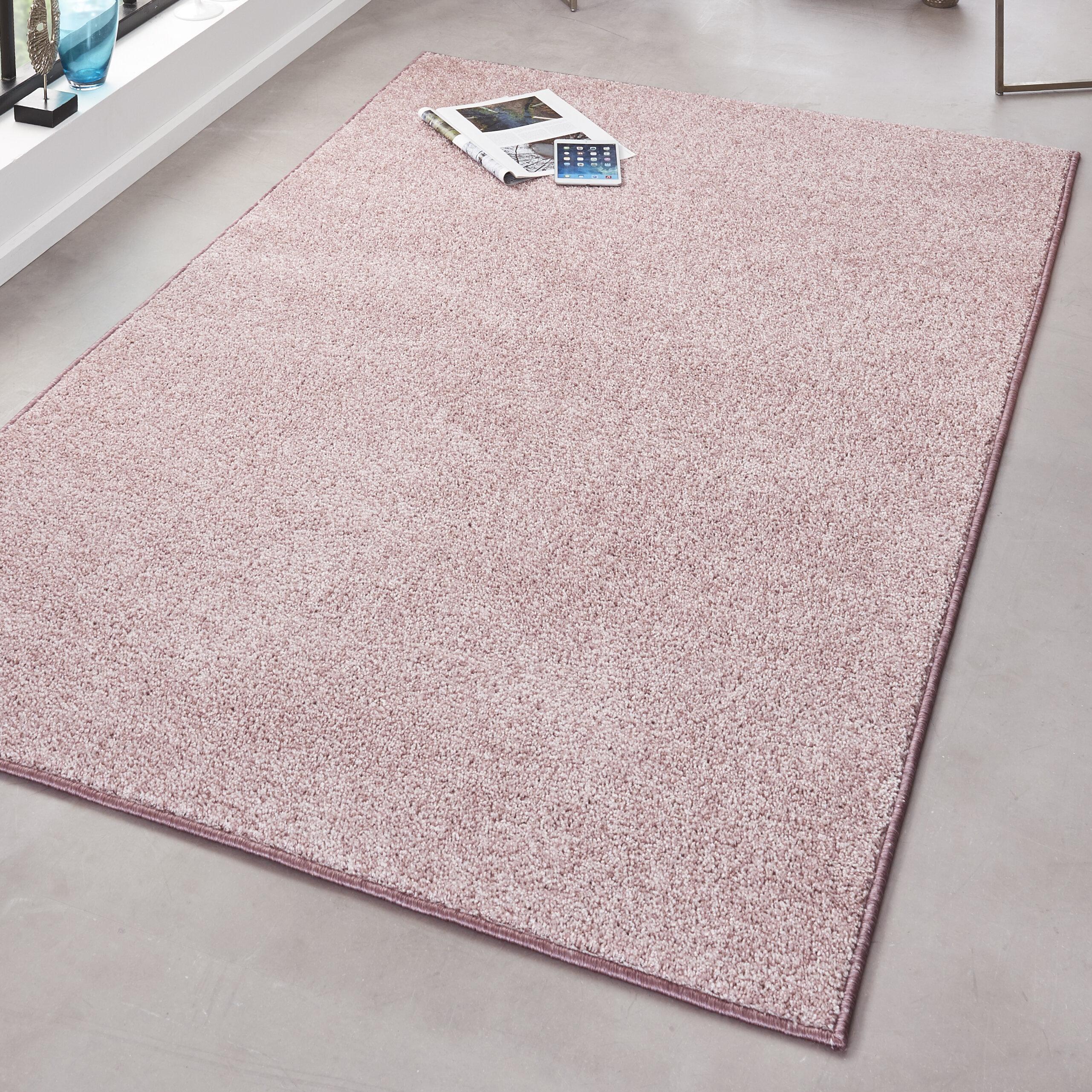 Charming Wunderbare Dekoration 10 Sisal Teppich Geeignet Fur Innenbereich Oder Ausenbereiche #14: Hanse Home Teppich Pure In Rosa | Wayfair.de
