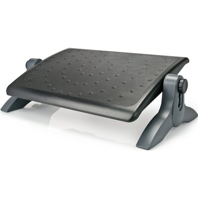 Ergo Deluxe Footrest with Rubber Padding Aidata U.S.A