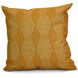 Soluri Pyramid Striped Geometric Throw Pillow
