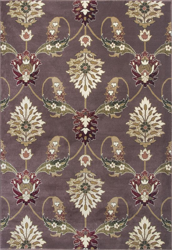 Wonderful Greenfield Plum Area Rug