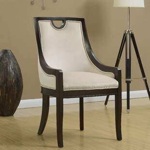 Adebay Nailhead Upholstered Dining Chair