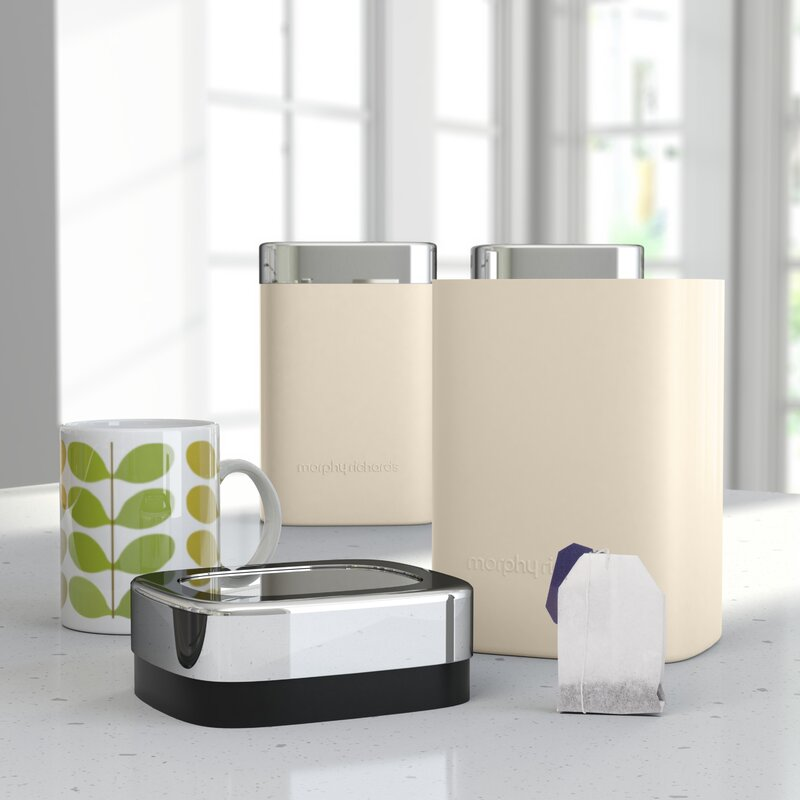 Stainless.. Consumers First Morphy Richards Special Edition Accents Bread Bin Roll Top Design