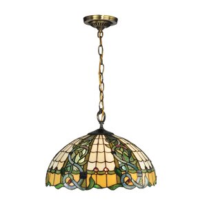 Asure Tiffany 3-Light Inverted Pendant