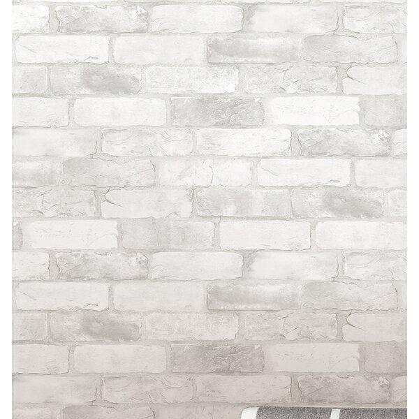 Wallpops Loft Brick Peel And Stick 18 X 20 5 Quot Wallpaper