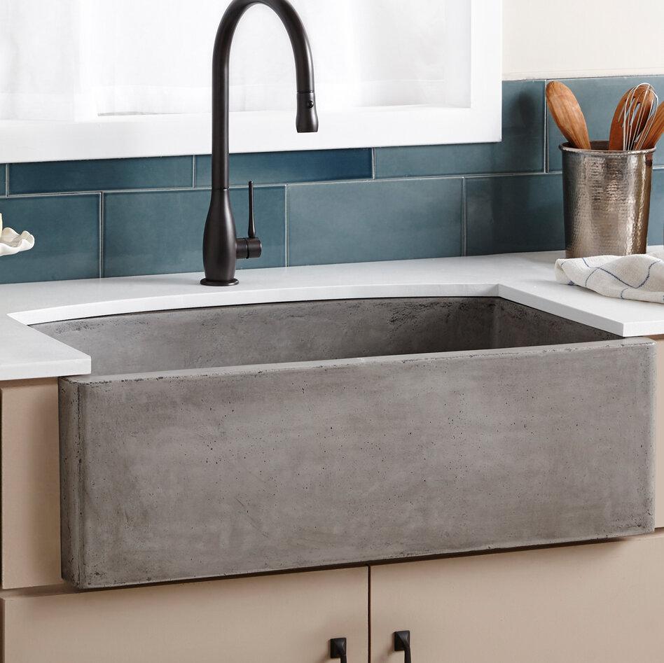 Native trails 33 l x 21 w farmhouse kitchen sink reviews wayfair