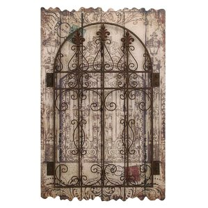 Metal Gate Wall Decor rustic barn decor | wayfair