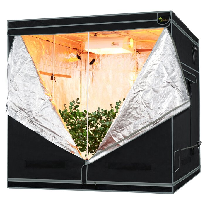 Mylar Hydro Shanty Hydroponics Indoor Grow Tent  sc 1 st  Wayfair & Earth Worth Mylar Hydro Shanty Hydroponics Indoor Grow Tent ...