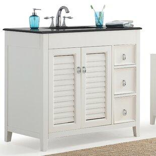 Save Simpli Home Adele 37 Single Bathroom Vanity Set