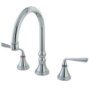 Elements of Design Copenhagen Double Handle Widespread Kitchen Faucet