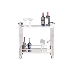 Shockey Bar Cart by Latitude Run
