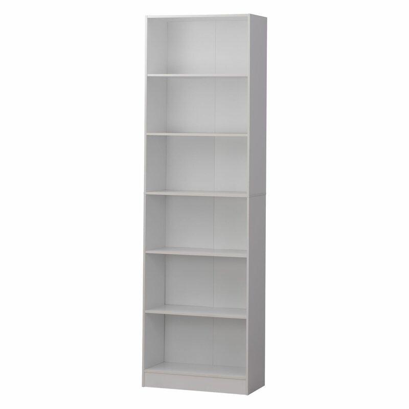 Latitude Run Neubauer 6 Shelve Standard Bookcase | Wayfair