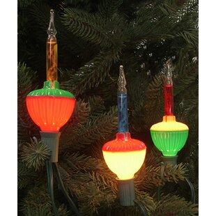 retro christmas bubble light bulb