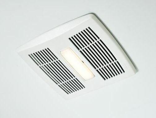 InVent Single Speed 110 CFM Energy Star Bathroom Fan With LED Light
