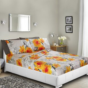 Navneet Printed Bed Sheet Set