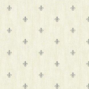 Fleur De Lis Wallpaper | Wayfair