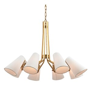 Alto 8-Light Shaded Chandelier