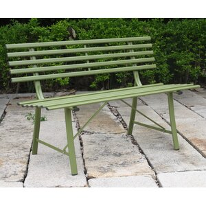 2 Seater Metal Garden Bench