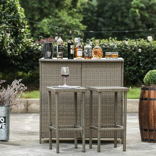 Kortright 3 Piece Bar Set