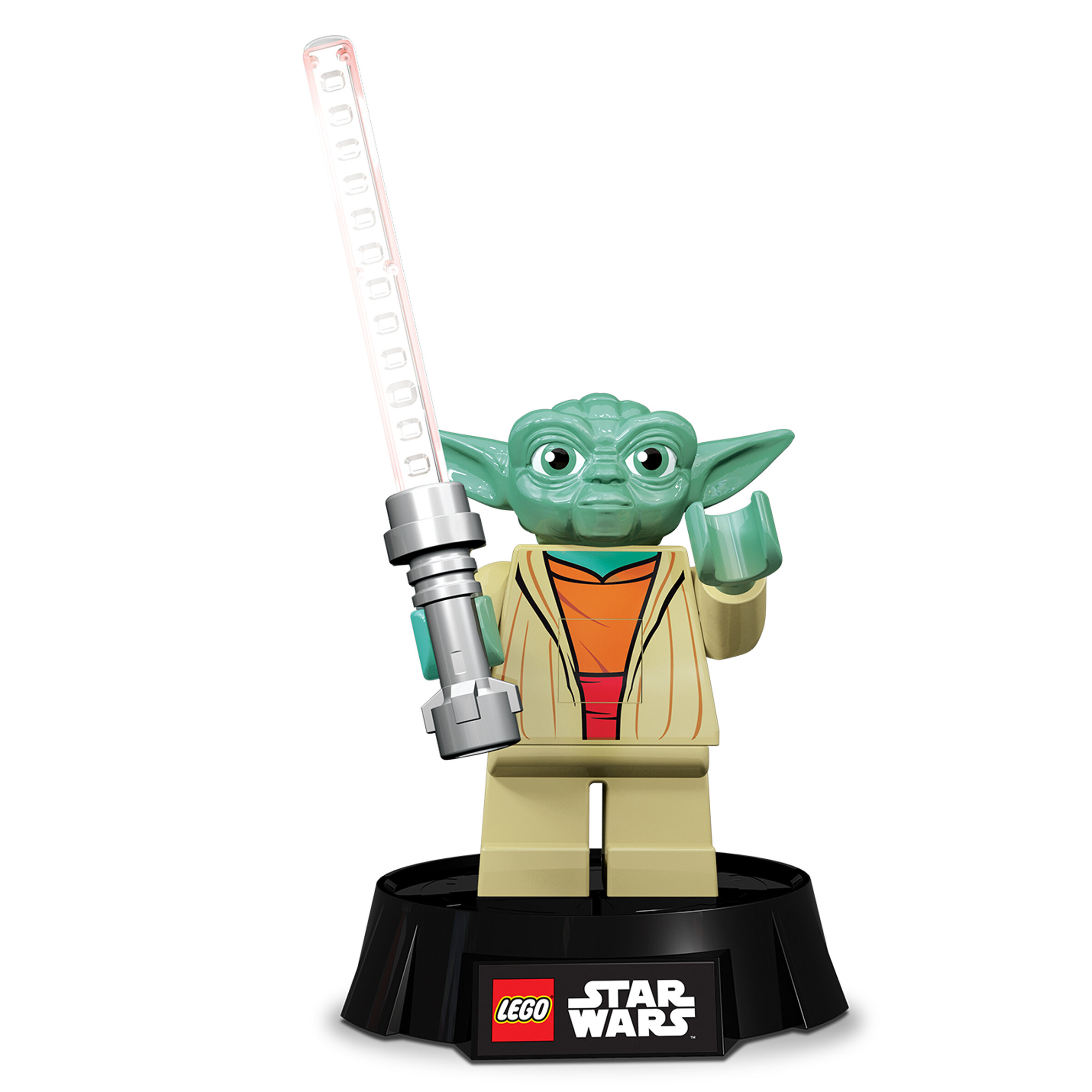 Santoki lego star wars yoda desk lamp 9 5 table lamp for Chaise yoda