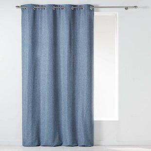 moderne gardinenvorhange eindrucksvollem effekt, gardinen & vorhänge: farbe - blau | wayfair.de, Design ideen