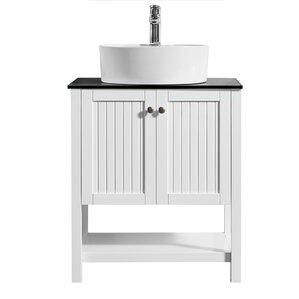 modena 28u201d single bathroom vanity set