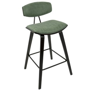 Lewter Mid-Century 27 Bar Stool (Set of 2)