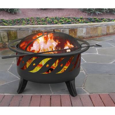 Landmann Ball Of Fire Steel Wood Burning Fire Pit Reviews Wayfair