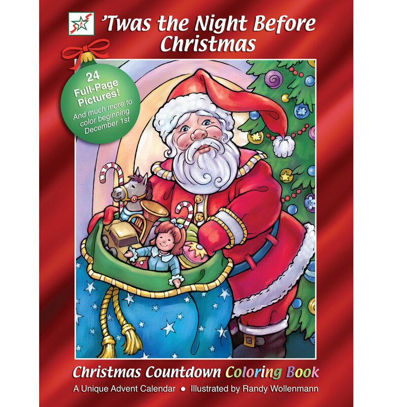 twas the night before christmas book advent calendar