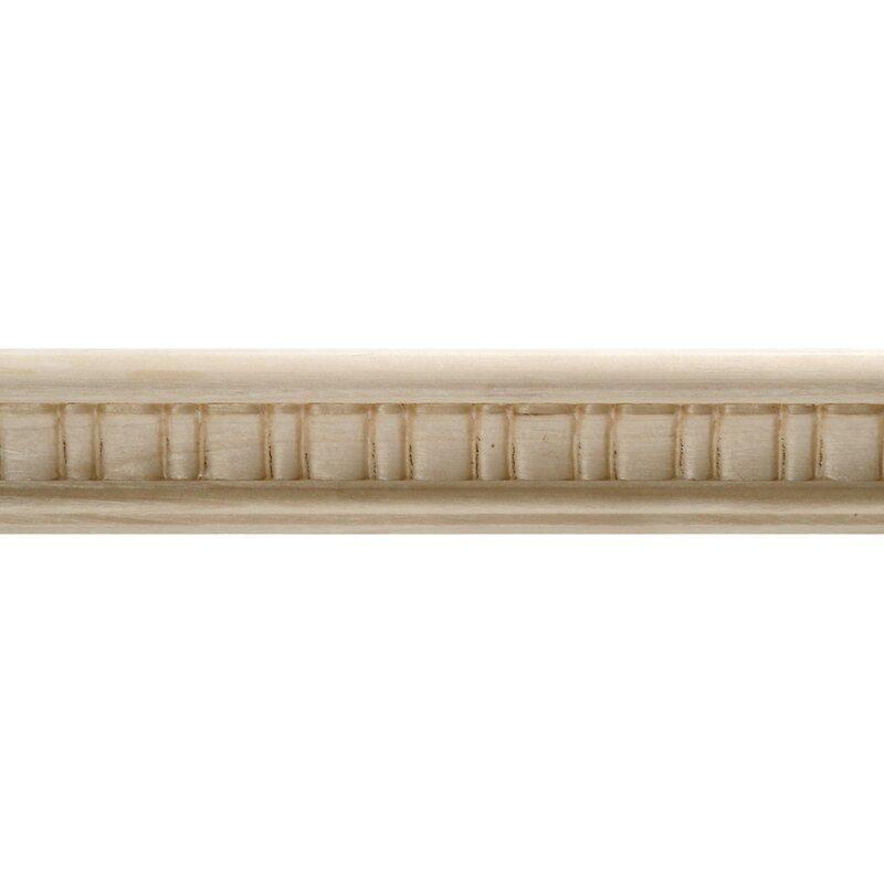 Ornamental Mouldings Hardwood Embossed Scallop Trim Panel