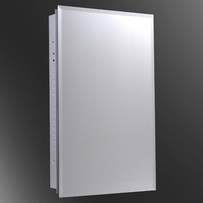 Recessed Medicine Cabinet Style Selections 15 75 In X 25 75 In ...