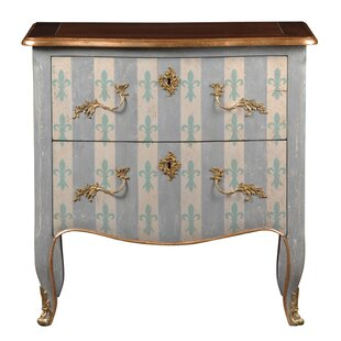 Pizarro 2 Drawer Commode/Chest