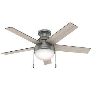 Grey oak ceiling fans wayfair save aloadofball Image collections
